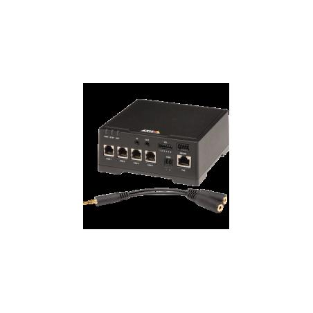 AXIS F44 Dual Audio Input...